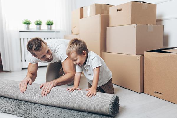Étapes et planification de déménagement
